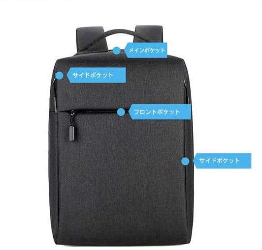 yubikeybag 豊富なポケット